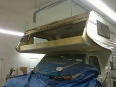 1988 Jayco Jay class C cabover rebuild. - Good Old RVs Cabover Camper, Jayco Campers, Truck Camper, Camper Van, Rv Roof Repair, Camper Repair, Rv Interior Remodel, Camper Renovation, Truck Bed Camping