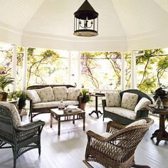 Such an incredible covered porch.  Give me a book, a glass of wine (or two) and a nice breeze, then forget about me.  I promise I will have forgotten about everything else.