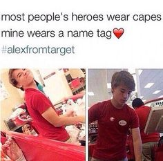 I have a new unhealthy obsession with Alex from target