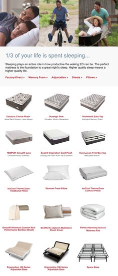 The perfect mattress is the foundation to a great night's sleep. Find your perfect mattress at Denver Mattress.