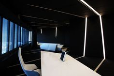 Torre de Cristal Office Interior by A-cero Architects
