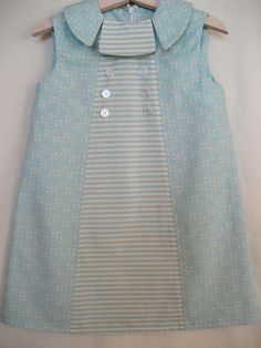 Blue Collar Dress by hart+sew, via Flickr