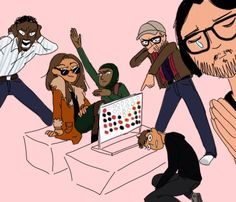 Mr Robot draw the squad meme the fsociety