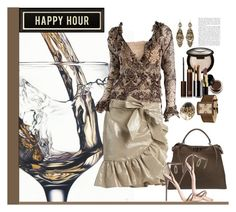 """""""Happy Hour"""" by marionmeyer ❤ liked on Polyvore featuring Wine Enthusiast, Isabel Marant, Roberto Cavalli, Fendi, Giuseppe Zanotti, Becca, Tom Ford, Bobbi Brown Cosmetics, Lancôme and LE VIAN"""