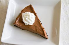 Nutella Cheesecake Pie - 6 by Sugarcrafter, via Flickr