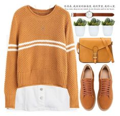 """""""Mustard"""" by mihreta-m ❤ liked on Polyvore featuring Madewell, Tsovet and Jada"""