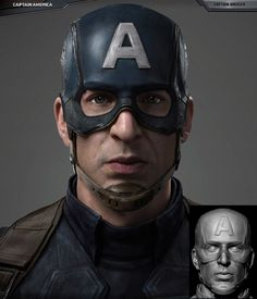 Type: 3D Model Title: Captain America - The Winter Soldier Artist: Guang Yang Software: 3ds Max, V-Ray and ZBrush