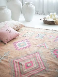 Blush & Ochre Atlas Mountains, Home Rugs, Im Not Perfect, Hand Weaving, Dancer, Blush, Kids Rugs, Pink, Vintage