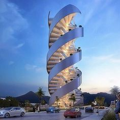 Torre Helea by Bulnes Arquitectos in Mexico. •#Arc_Only