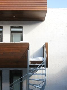 la SHED architecture _ Maison Demers La Shed Architecture, Sweet Home, Stairs, Shelves, Patio, Home Decor, Home, Stairway, Shelving