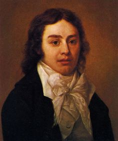 "Samuel Taylor Coleridge.  First to write about the ""suspension of disbelief"".  A concept that escapes my husband during television/movie watching."