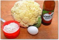 Cauliflower in crispy batter
