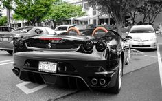 Ferrari F430 Spider Back