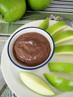 Nutella Greek Yogurt. I am going to try this!   http://tastykitchen.com/recipes/appetizers-and-snacks/nutella-greek-yogurt-dip/#
