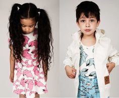 Start planning for summer 2015 with Mini Rodini's latest kids' clothing collection #Animals, #KidsClothing, #MiniRodini, #Scandinavian, #Summer