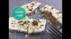 Kokos-Cheesecake mit Mandeln - (Käsekuchen ohne Backen) Rezept Desserts, Food, Food Food, Tailgate Desserts, Deserts, Essen, Postres, Meals, Dessert