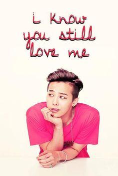 GD Jiyong / G Dragon ♡ #Kpop #BigBang :: Oh my God! Like all day, everyday... I Love You!