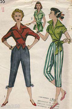 1950s Capri pants | Capri pants, Capri and 1950s