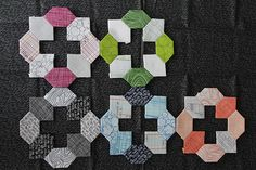 Honeycombs!  English Paper Piecing PaperPieces.com