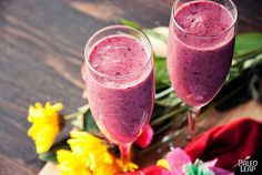 If you're looking for an appropriate Valentine's Day treat, this Valentine's Day Smoothie from @paleoleap features pomegranate (a symbol of love and fertility as far back as ancient Greece). https://paleoleap.com/valentines-day-smoothie/