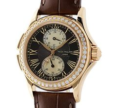 Women's Certified Pre-Owned Watches - Patek Philippe Calatrava mechanicalhandwind womens Watch 4934R Certified Preowned *** You can get more details by clicking on the image.