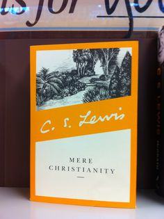 C.S. Lewis Mere Christianity Not the most exciting book, but I love it. So deep and rich, yet so profoundly simple.