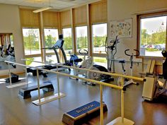 Physical therapy room at Primary Health Care Clinic
