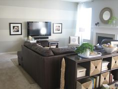 Simple Kid Friendly Family Room A Roomy Comfy Place Where We Watch