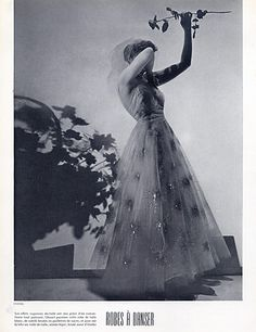 Chanel 1937 Evening Gown Fashion Photography, Cecil Beaton