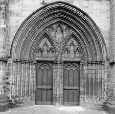 Gothic Doors Glasgow Cathedral Flickr Photo Sharing flickr.com