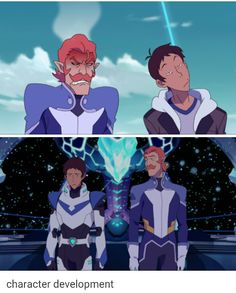 Aw Coran being a good space uncle to lance is my favorite thing