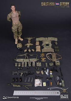 onesixthscalepictures: DAM Toys BRITISH ARMY IN AFGHANISTAN : Latest product news for 1/6 scale figures (12 inch collectibles).