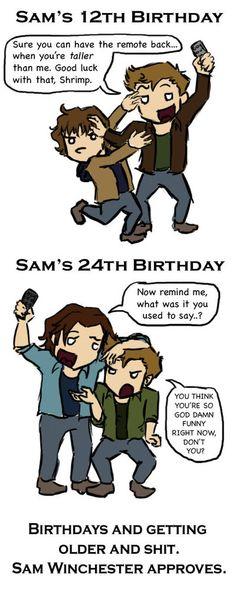 Sam Winchester's Revenge #Supernatural
