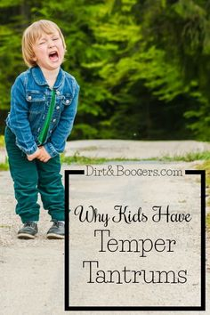 Toddler tantrums happen in life. This article shares the REAL reason why kids have tantrums and some great advice and parenting tips for Mom on what to do about them.