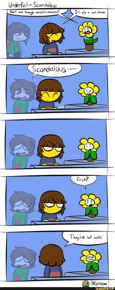 underfell, undertale, chara, frisk, flowey. Moral of the story here, don't look through people's drawers