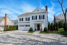 In-Town Living ... 5 Noroton Green, Darien CT. Represented by David and Holly Hawes. To see more eye candy on this home go tohttps://www.halstead.com/sale/ct/darien/5-noroton-green/house/99141962