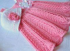 Crochet Dress - Harvest Baby Thread