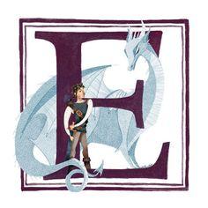 E is for Eragon!