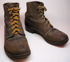 work boots early 1900 mens - Google Search