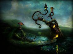 Мистический мир скандинавских сказок в иллюстрациях Александра Янссона