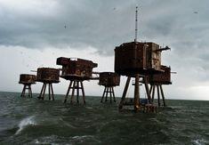 Fortes marinhos na Inglaterra.