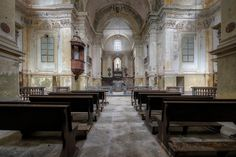Lares et Penates - Very old abandoned church