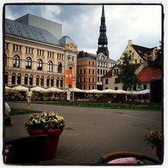 Līvu Square. Riga