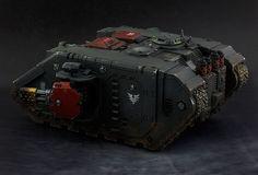 Land Raider Achilles / Redeemer kitbash, Blood Angels Death Company stylee... - Forum - DakkaDakka | I see lead people.