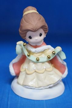 Beauty Belle Your Love Rings True Figurine 2013 Disney Precious Moments 131039 #PreciousMoments