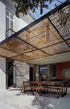 Attached Pergola Design For Your Dream Home Attached Pergola Design – It is and many of us are thinking of new ways to make our homes a better place.Attached Pergola Design – It is and many of us are thinking of new ways to make our homes a better place. Metal Pergola, Outdoor Pergola, Wooden Pergola, Backyard Pergola, Outdoor Decor, Pergola Lighting, Metal Roof, Canopy Outdoor, Cheap Pergola