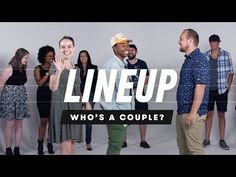 People Guess Who's a Couple from a Group of Strangers - YouTube
