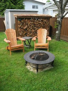 Heather& home improvements: Concrete pad for backyard fire pit area diy ideas modern Fire Pit On Grass, Fire Pit Yard, Gazebo With Fire Pit, Fire Pit Backyard, Easy Fire Pit, Small Fire Pit, No Grass Backyard, Backyard Seating, Gazebo Foyer