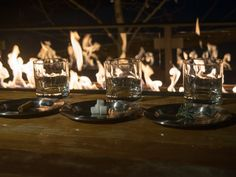 At The Handle Bar, the essence of pine, marshmallow and cinnamon are torched and infused into the glass during the Mountain Whiskey Ceremony ritual to enhance the aroma of the bourbon.  Four Seasons