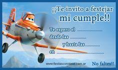 Tarjeta de cumpleaños de dusty-aviones-planes-disney
